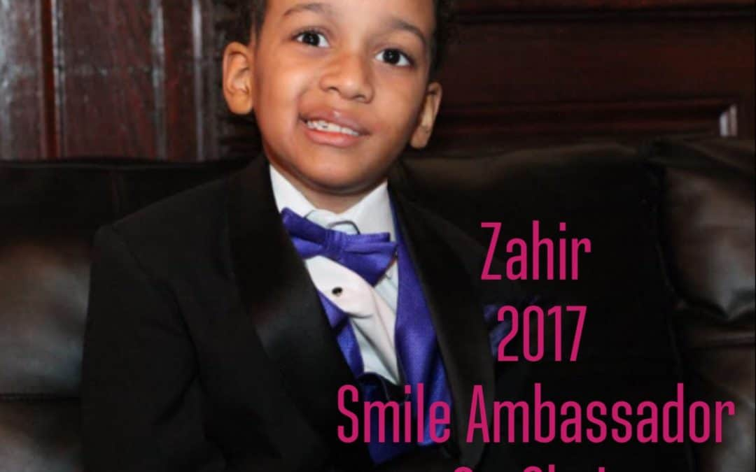 Little Smiles' Announces First Smile Ambassador, Zahir and TEXT TO GIVE CAMPAIGN