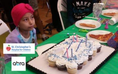 Birthday Celebration St. Christopher's Oncology