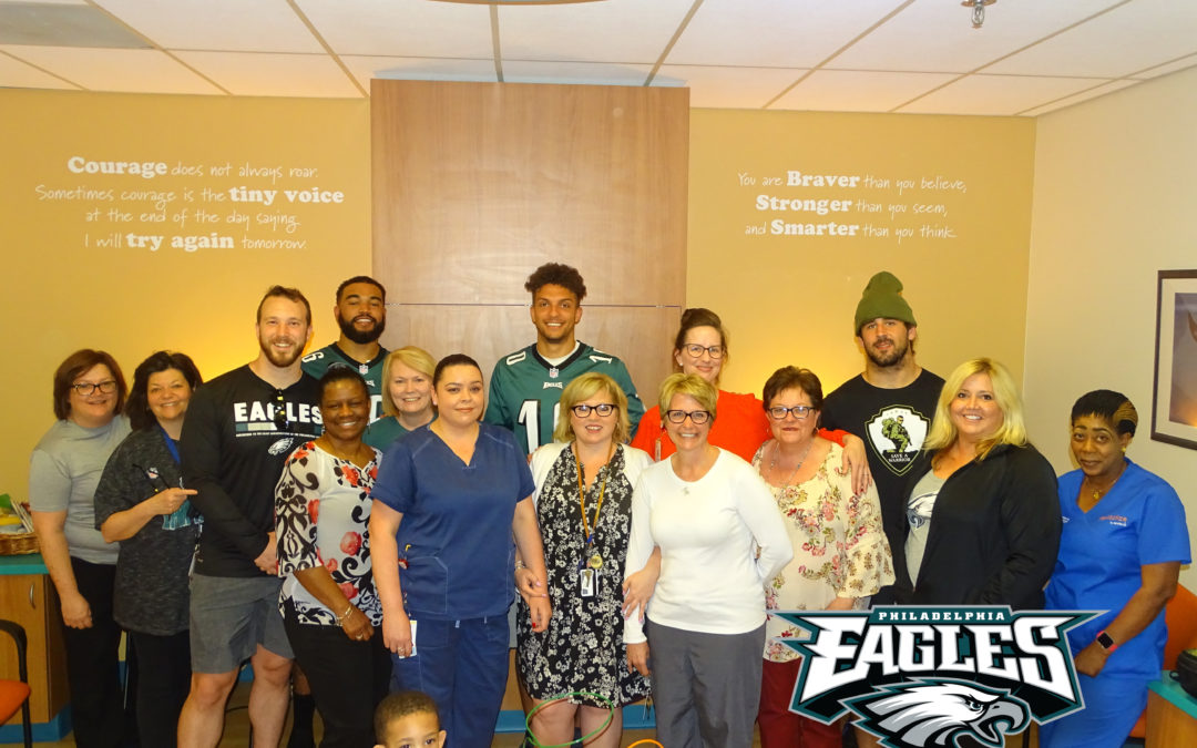 eagles little smiles St. Christophers Hospital may 20182