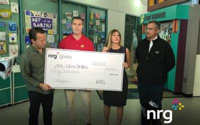 NRG gives Check Presentation